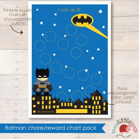 Batman Reward chart Classroom Ideas Pinterest Chart - free reward chart templates