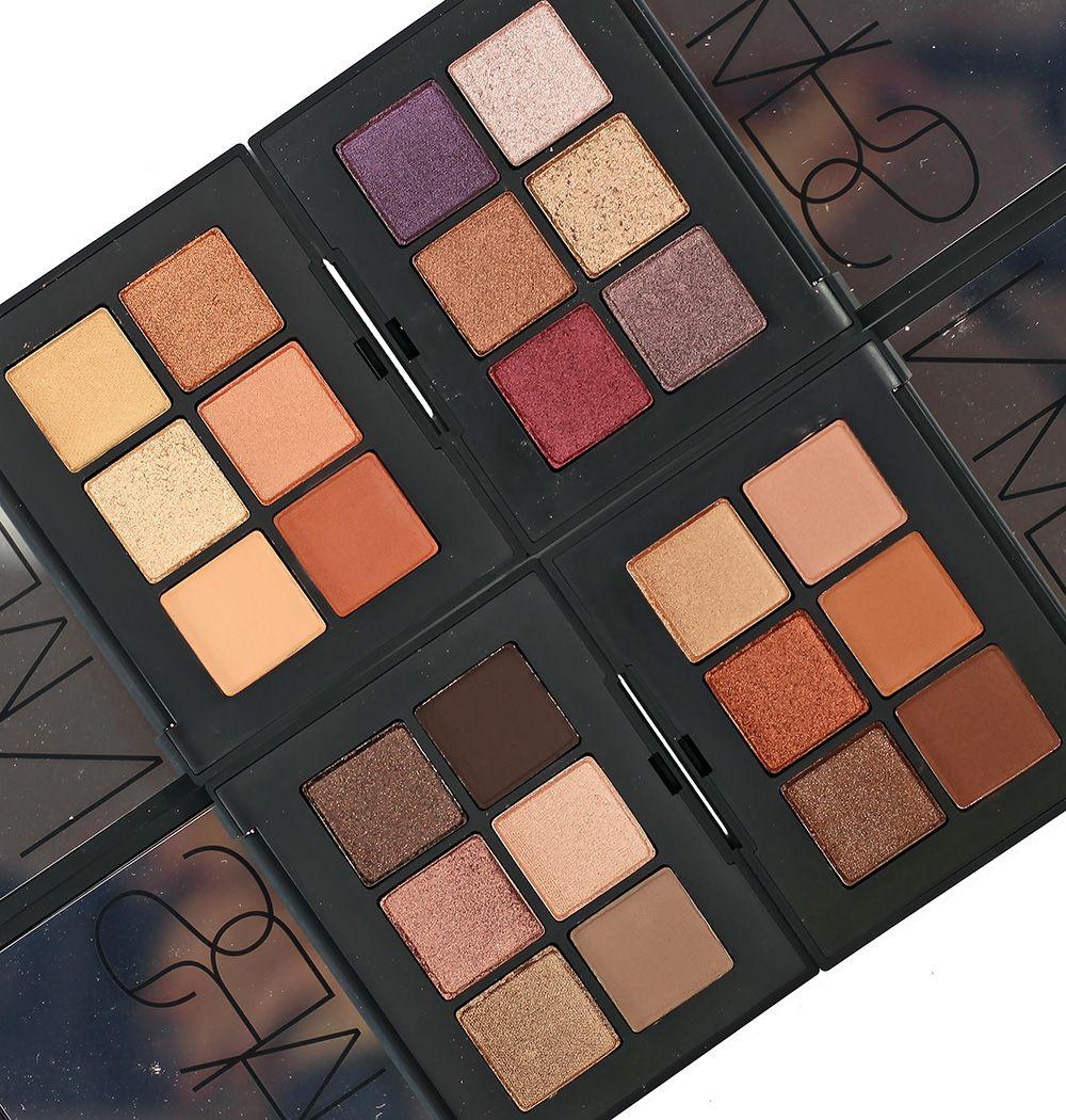 NARS Nectar Voyageur Eyeshadow Palette Swatches, Review + Eye Look | Nars  eyeshadow palette, Eyeshadow palette, Eyeshadow
