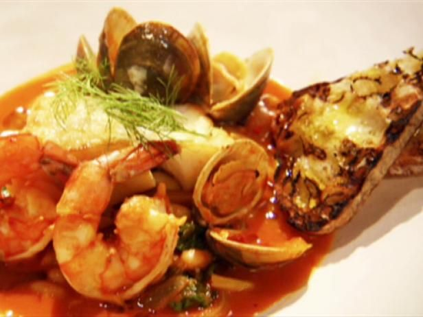 Pacific cod and clam cacciucco recipe clams seafood soup and get pacific cod and clam cacciucco recipe from food network forumfinder Gallery