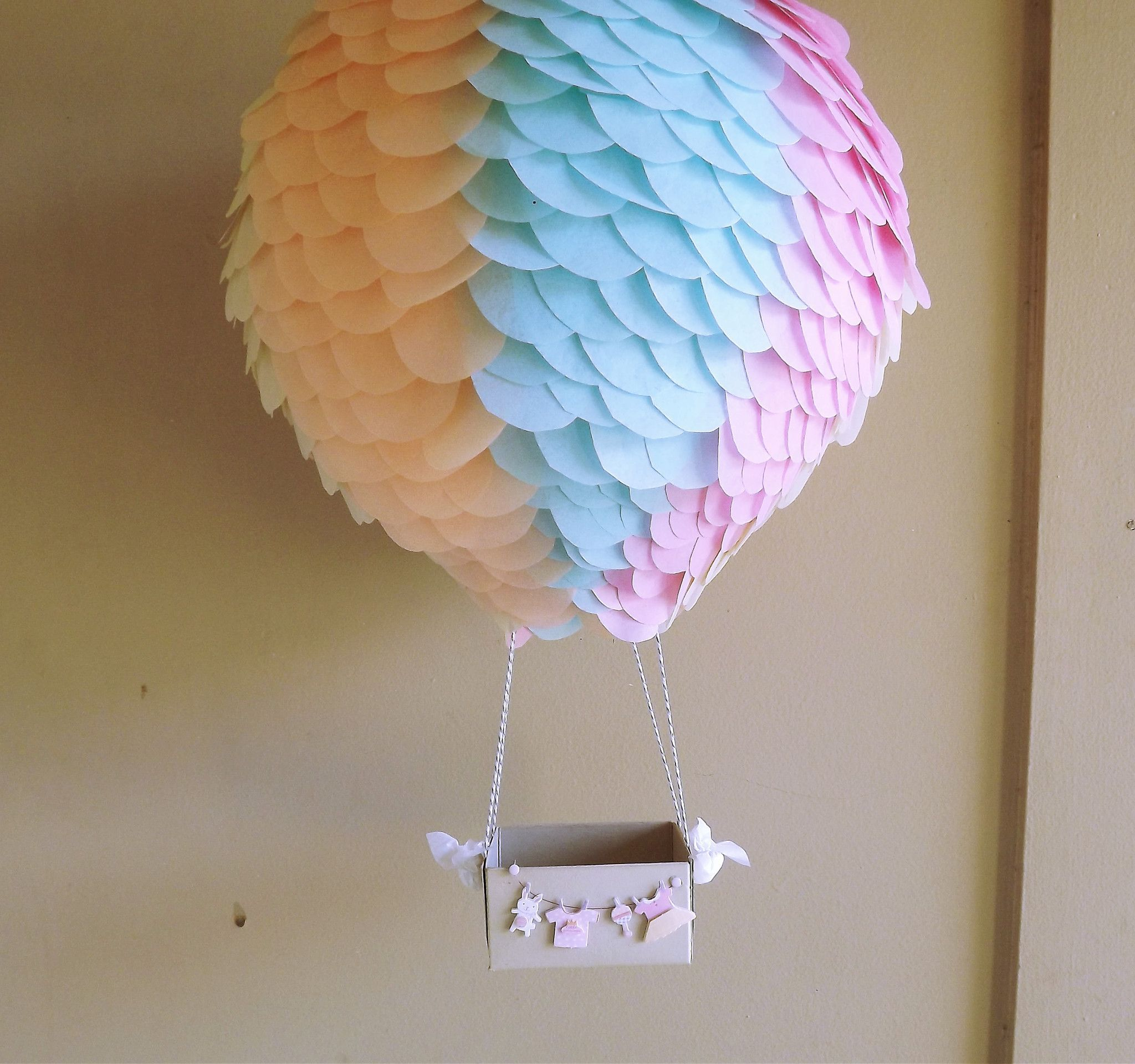 Shower The Baby Hot Air Balloon