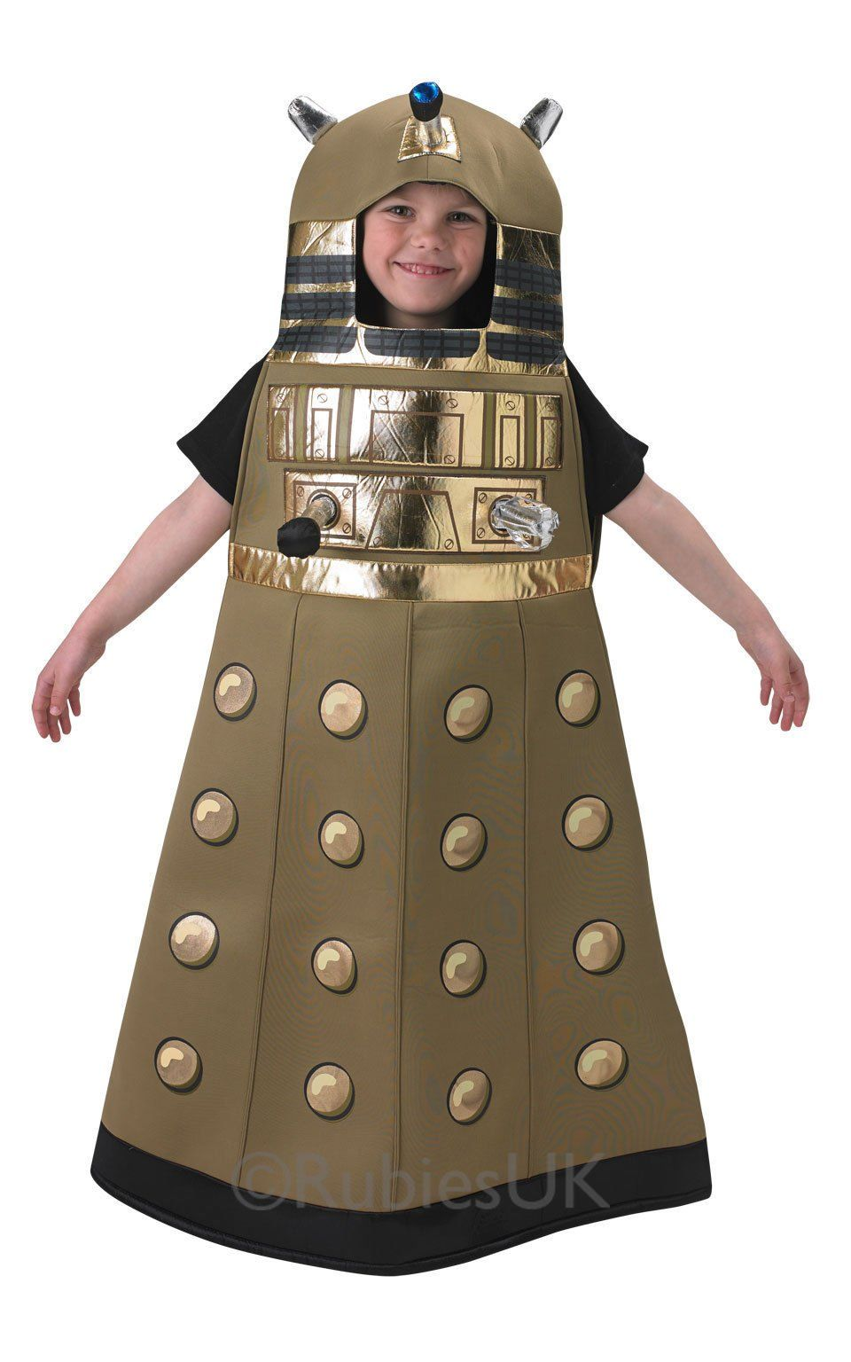official boys dalek doctor dr who book day halloween robot sci fi space futuristic fancy dress - Kids Doctor Halloween Costume