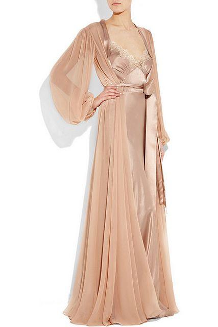jenny packham robe and nightgown via habit and deshabille dbdaf097b6