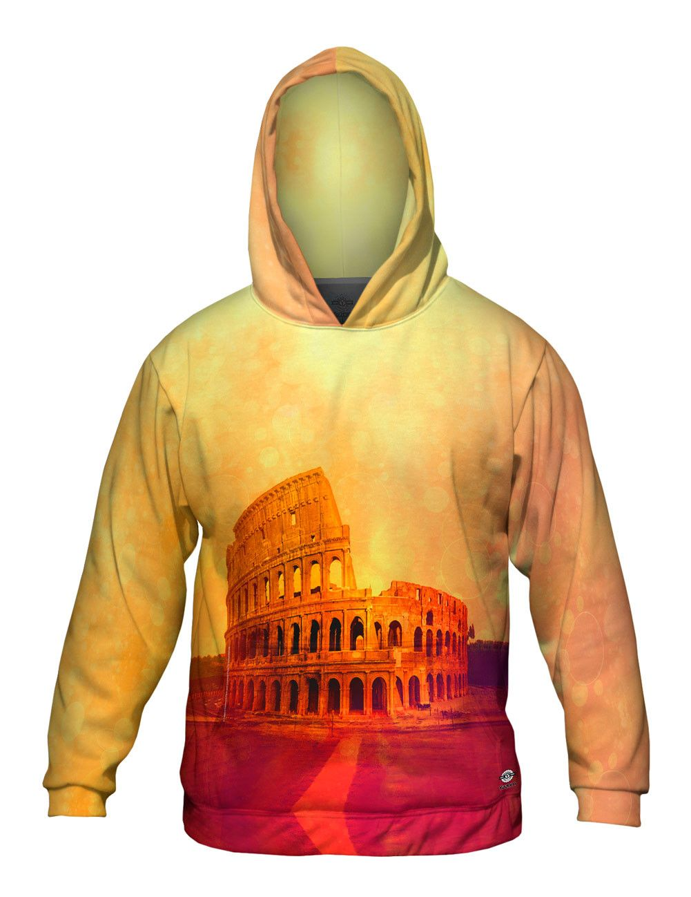 Image of Fashion Golden Colosseum Rome Italy - X-Large