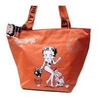 Borsa donna/ragazza Betty Boop - Colore Arancione - 6440