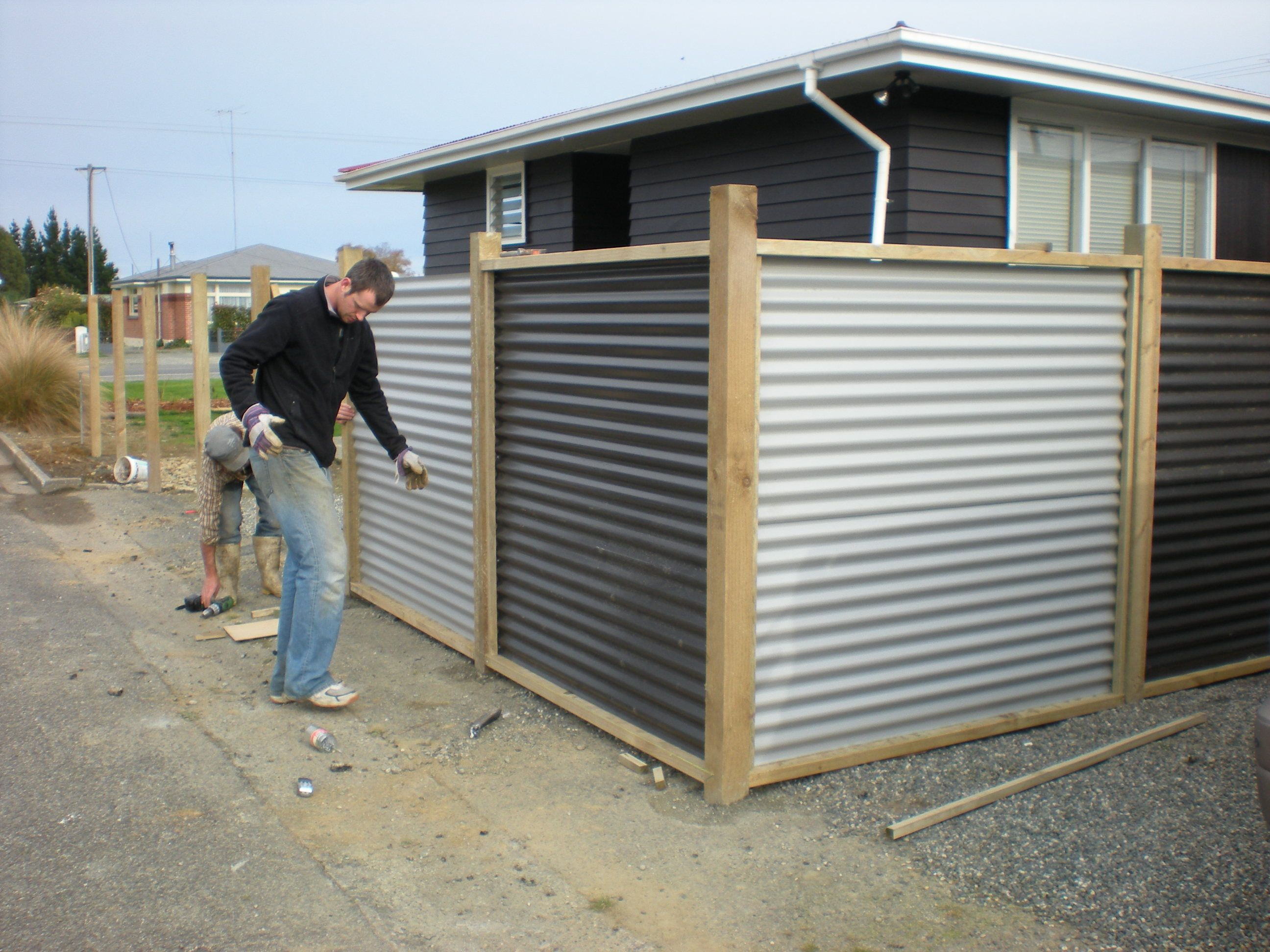 Inspiration Corrugated Metal Fence Panels With Hr 16 Metal Wall