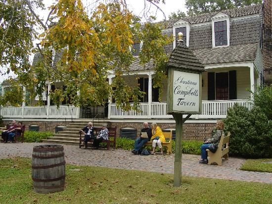 Christiana Campbell S Tavern Colonial Williamsburg