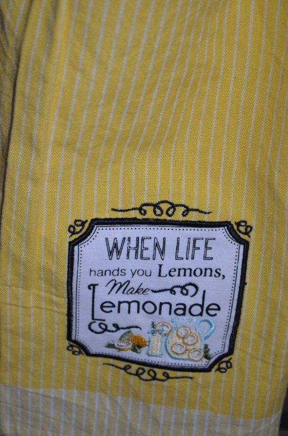 When Life Hands You Lemons Make Lemonade Hanging by FryesCreations
