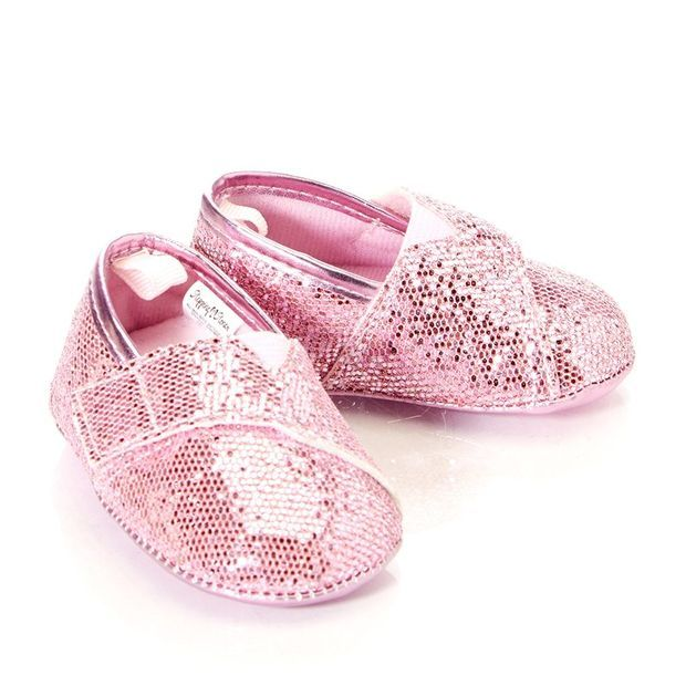 ccbc08c60ca0 Slip On Glitter Shoes Infant 378673728 | Baby Shoes | Baby Girl Clothes |  Clothing | Burlington Coat Factory
