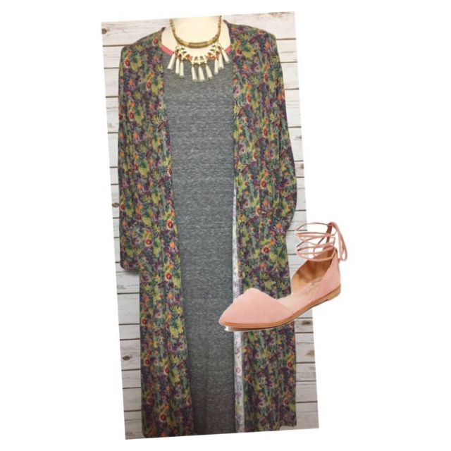 LuLaRoe Julia Dress and Sarah Cardigan