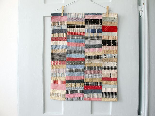 quilting muted colours