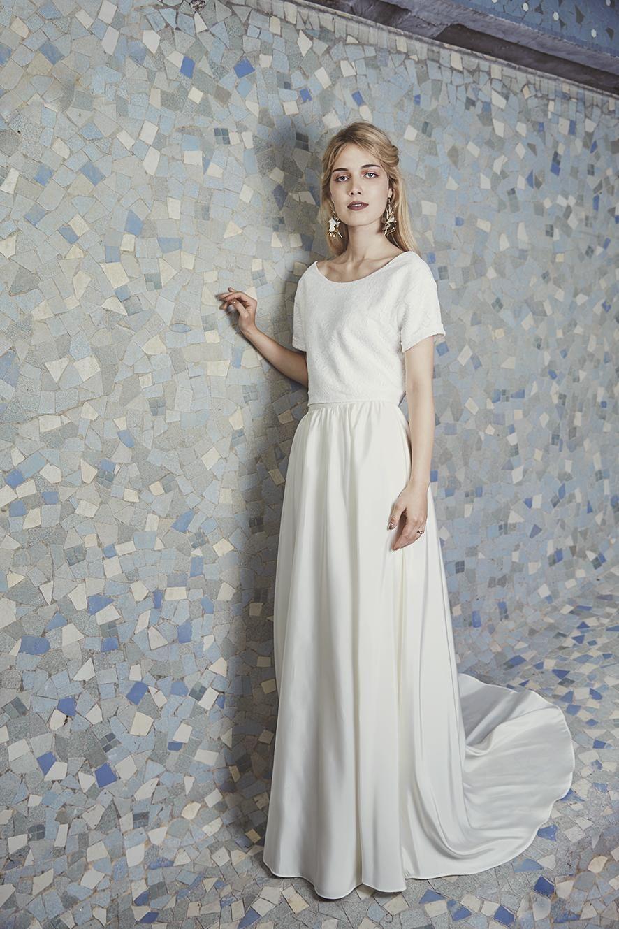 d8d0e5b2fd4 Découvrez la collection de robes de mariée Anne de Lafforest 2019 - Madame  Figaro