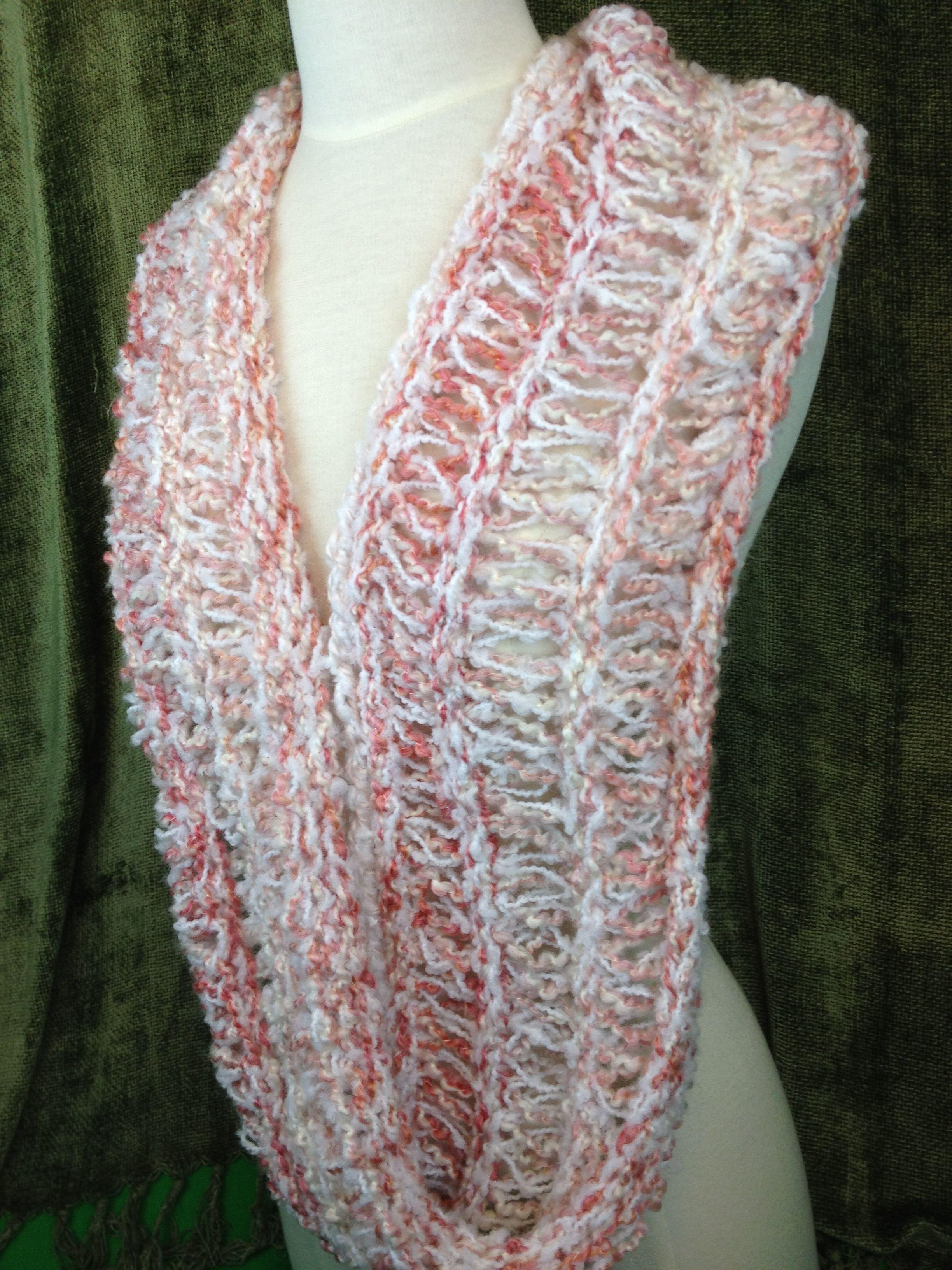 Nice Spring Scarf Knitting Pattern Elaboration - Decke Stricken ...