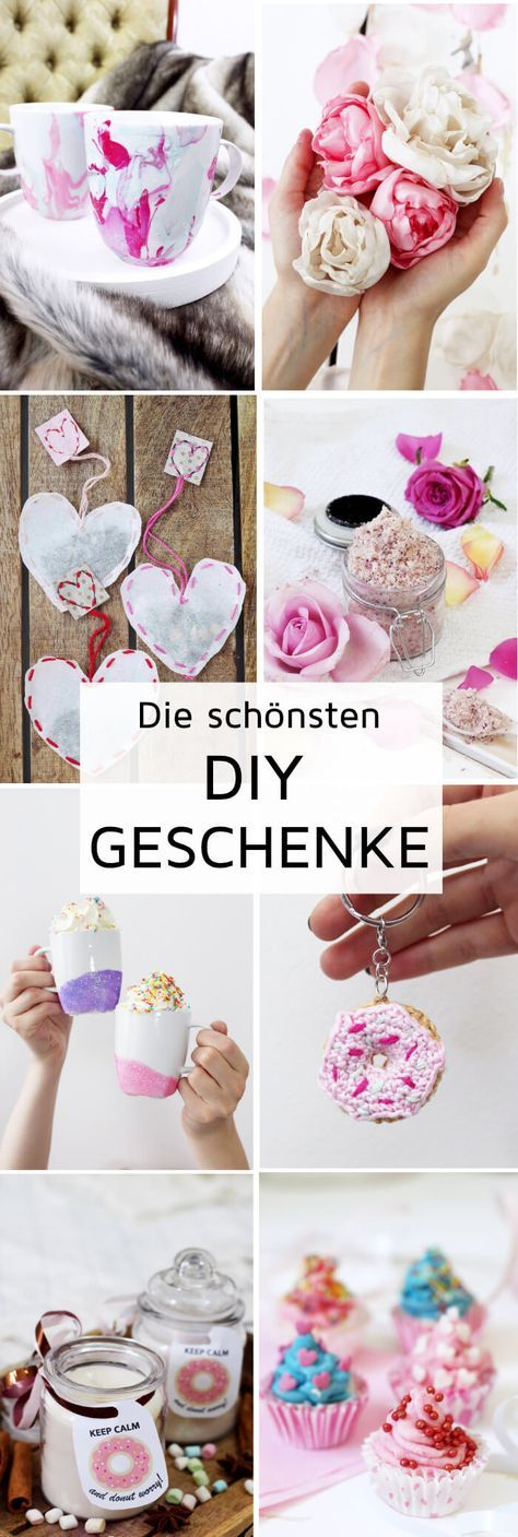 Diy geschenke selber machen kreative geschenkideen basteln diy geschenke pinterest - Geschenkideen freundin selber machen ...