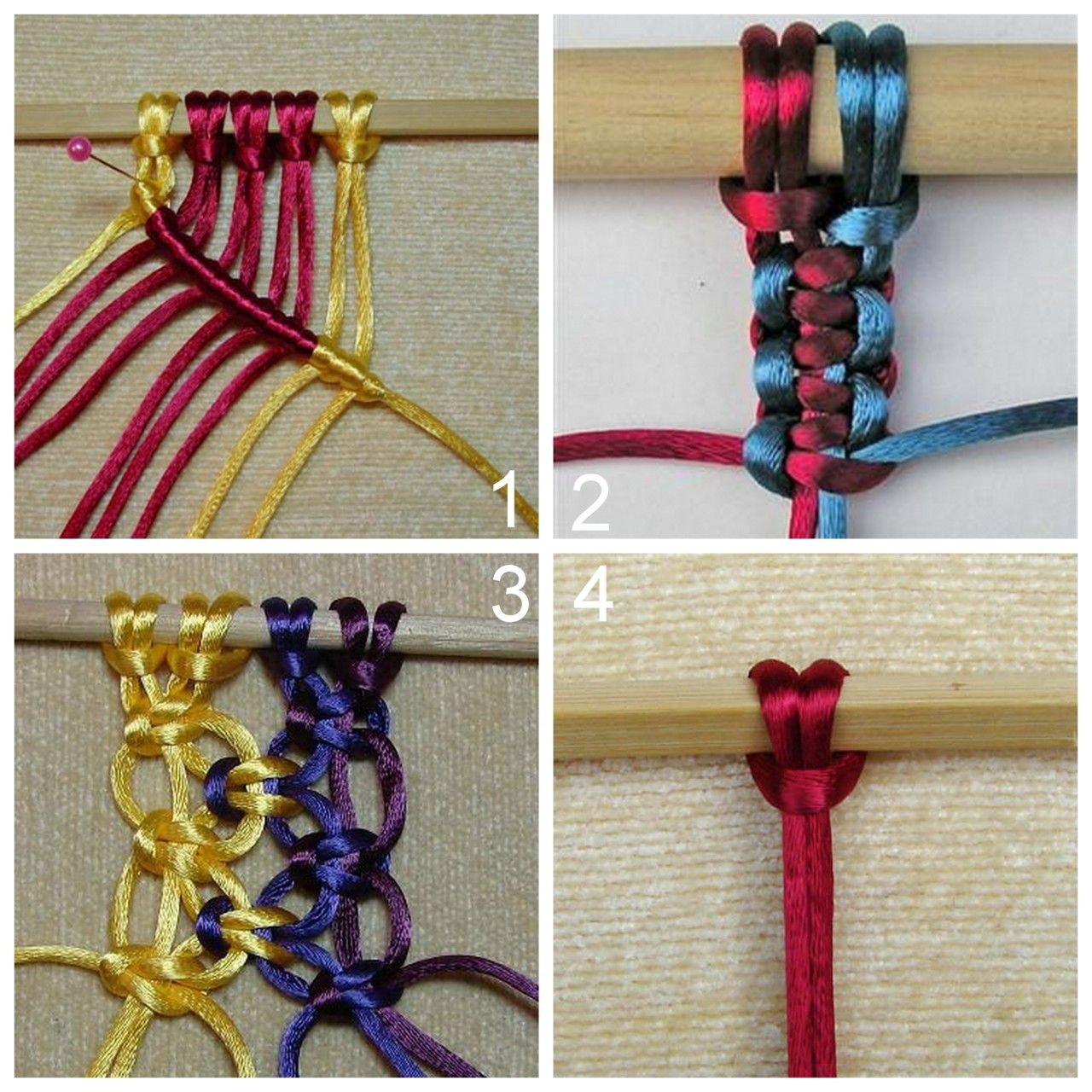 There Is A Link For All Kinds Of Macrame Patterns