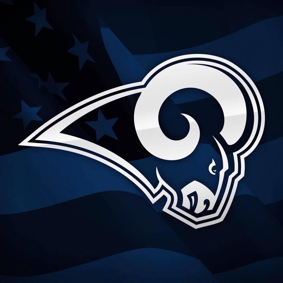 4th Of July Rams Los Angeles Rams Logo Rams Football Nfl Teams Logos