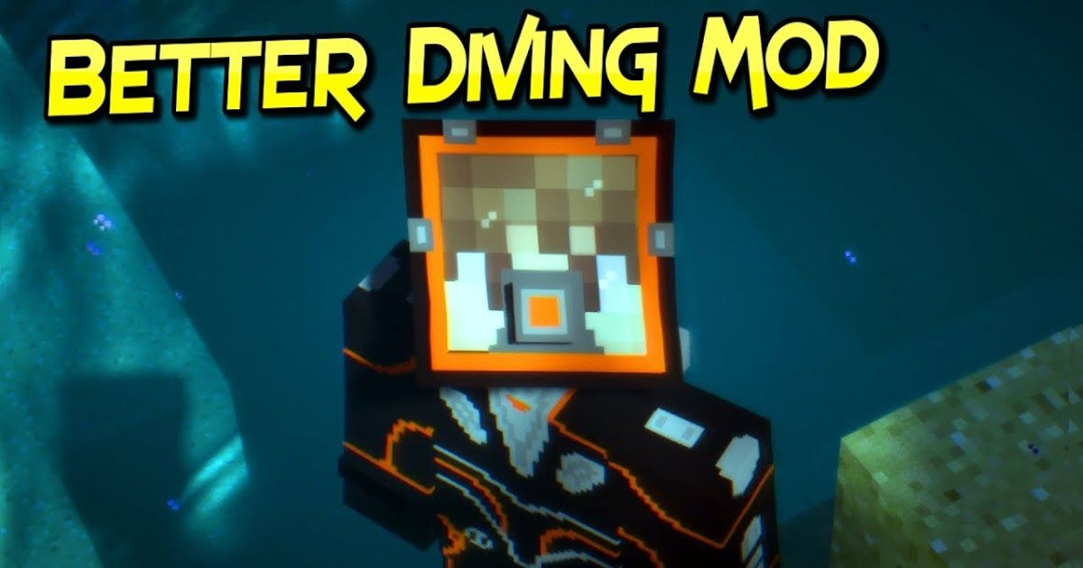Better Diving Mod 1 12 2 1 11 2 Adds A Small Diving Kit That