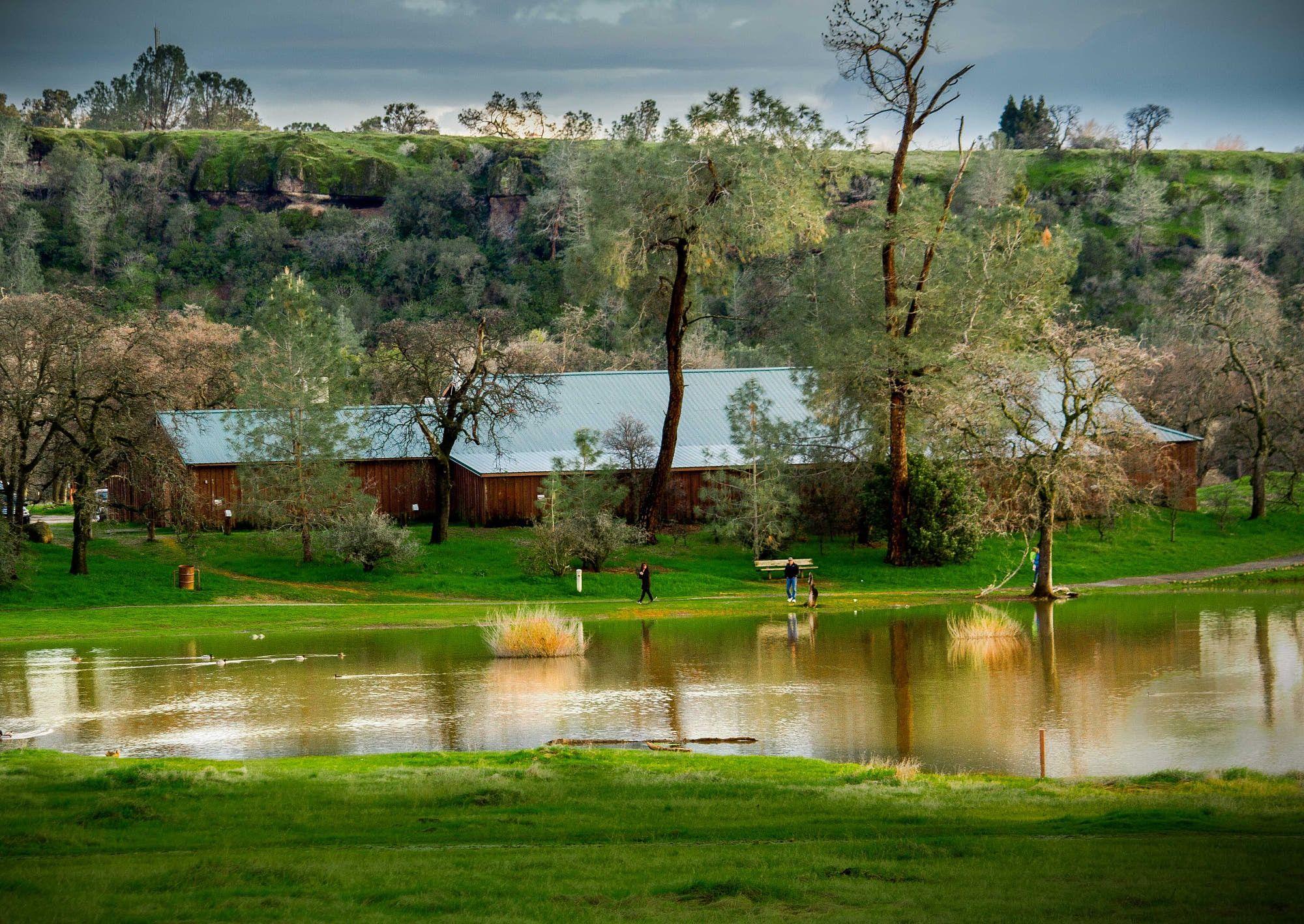 Horse Shoe Lake Chico Bidwell Park Chico California Bidwell Park Chico