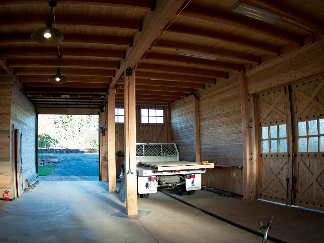 Barn with Living Quarters The Denali Garage Apt 48 - Barn Pros ...