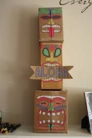 Homemade Luau Decorations Google Search