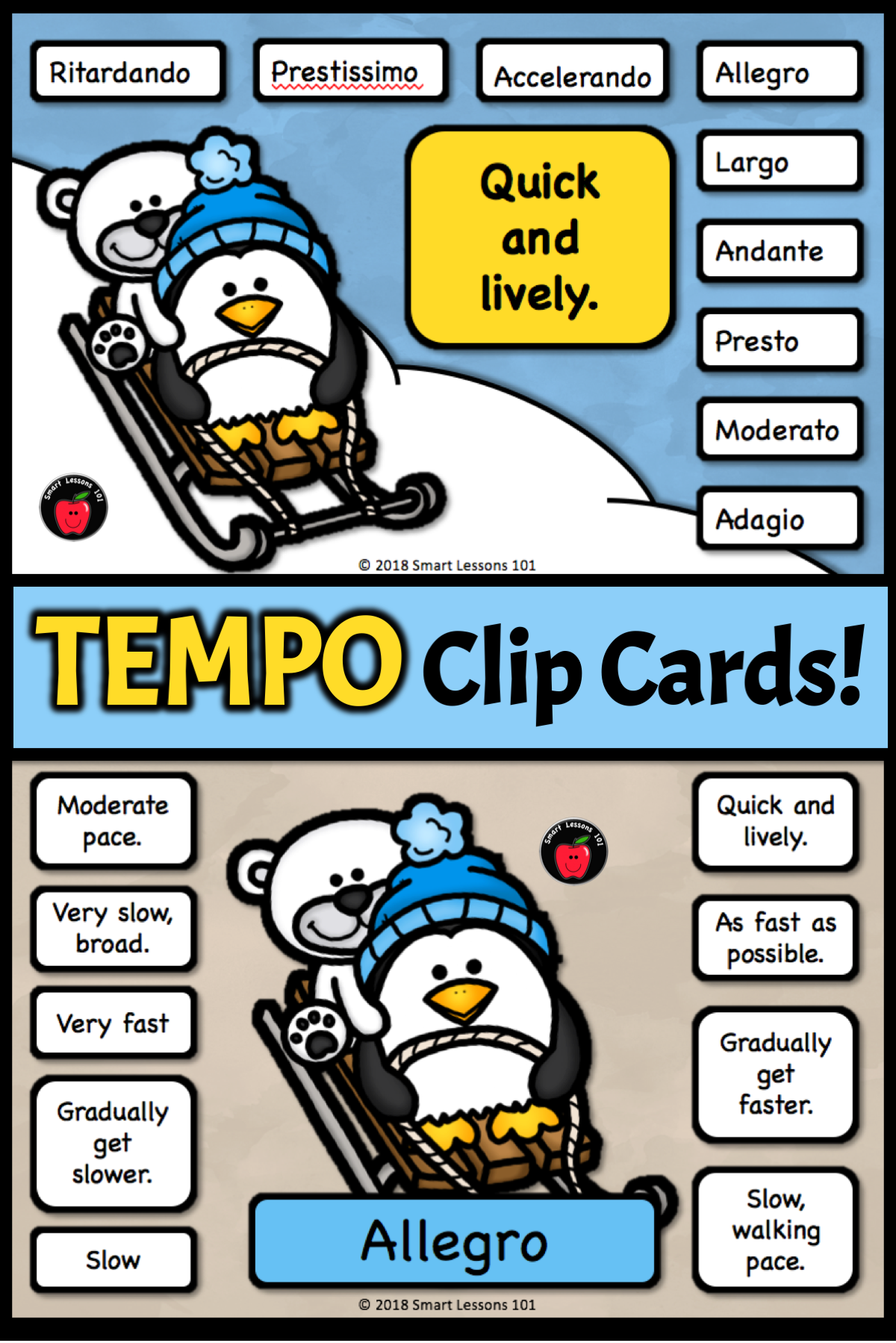 Ready To Use Tempo Music Activities For Your January Music