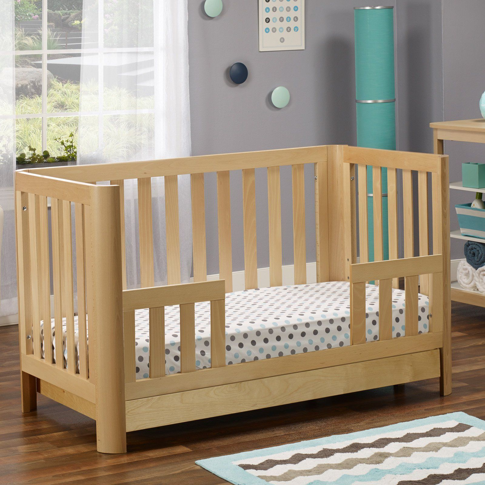 Sorelle Cortina 3-in-1 Convertible Crib with Drawer - 708-N ...