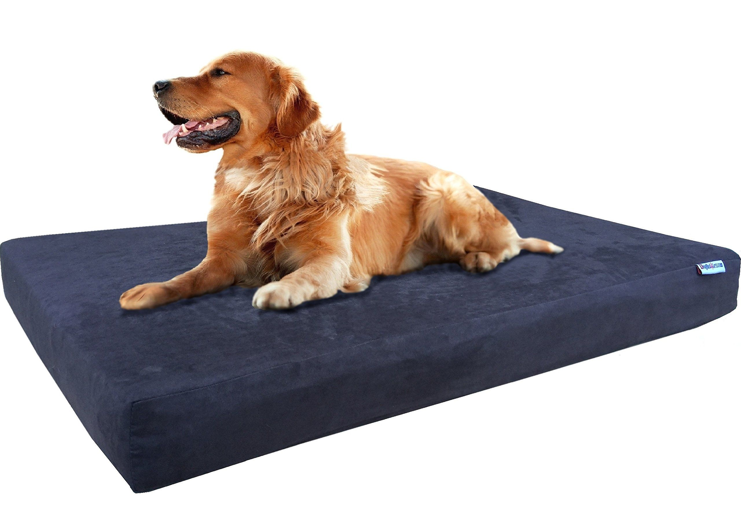 Dogbed4less XL Orthopedic Gel Infused Cooling Memory Foam
