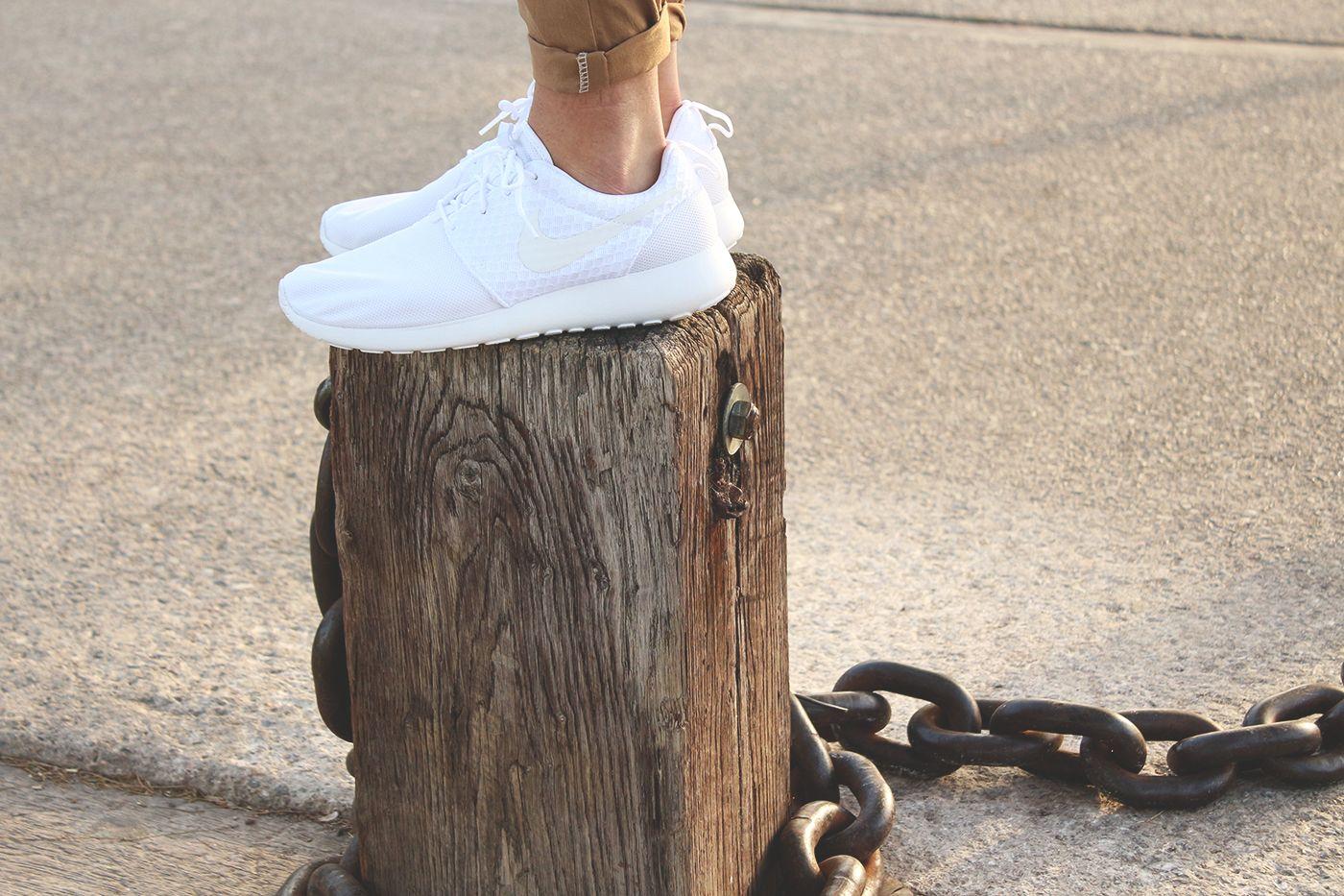 roshe run blanche foot locker