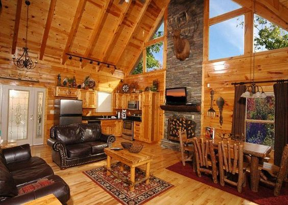 Buck naked cabin
