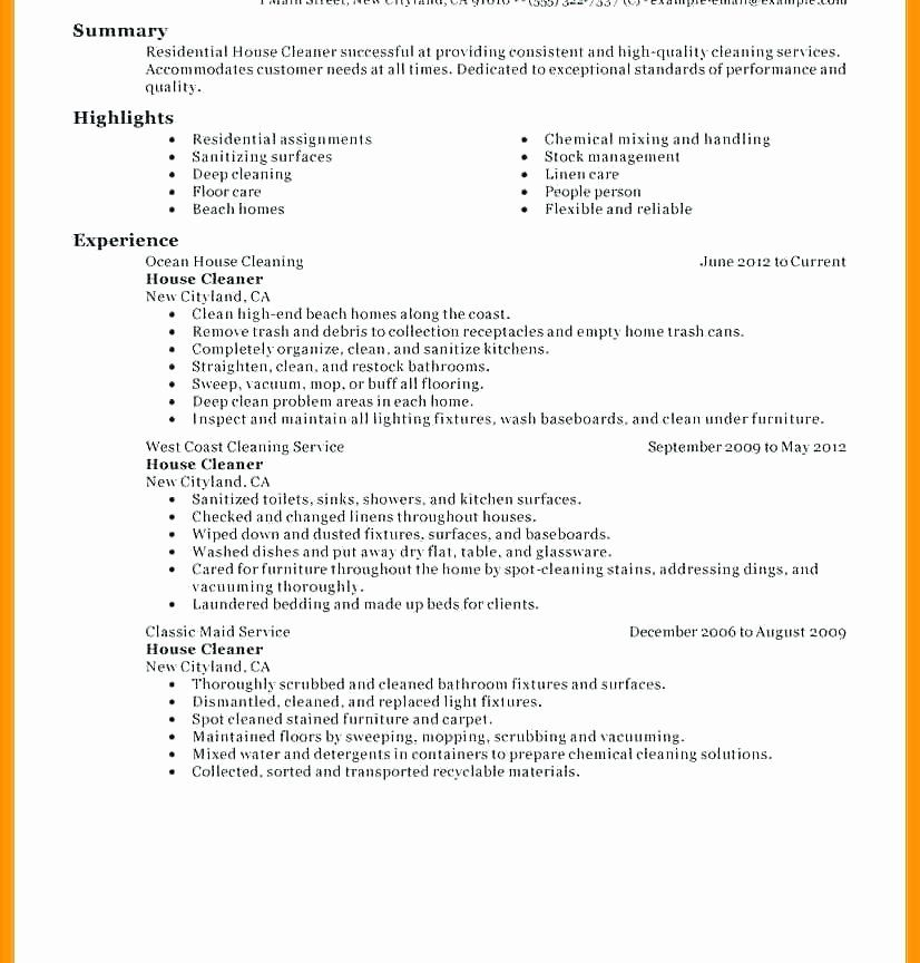 Janitor Job Description Resume Best Of 12 13 Mercial