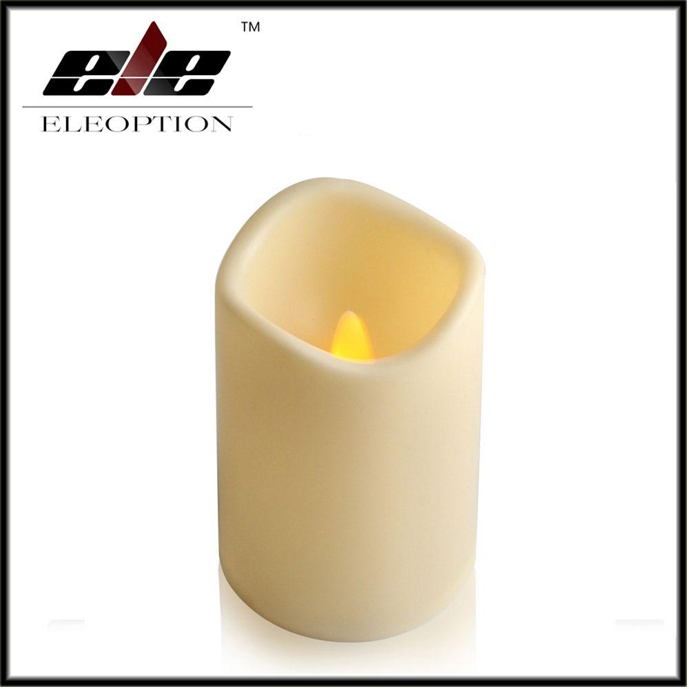 Click to buy ucuc eleoption flickering flameless pillar led candle