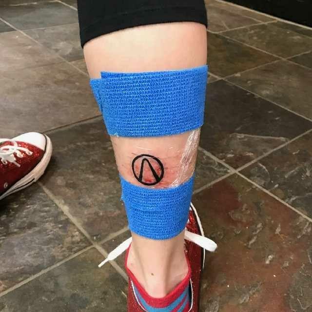 I Just Got A Borderlands Vault Symbol Tattoo I Love It