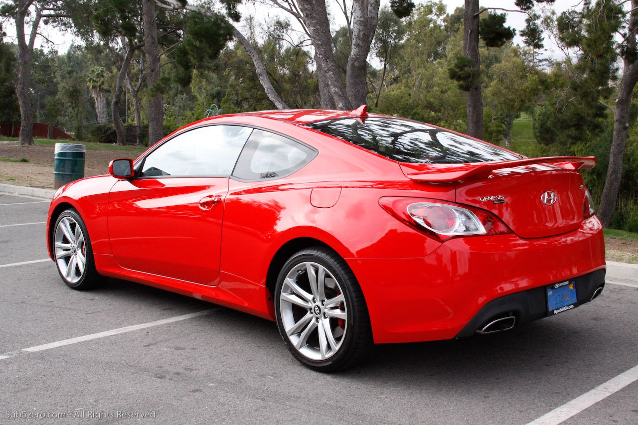 Hyundai genesis coupe track edition barbara had