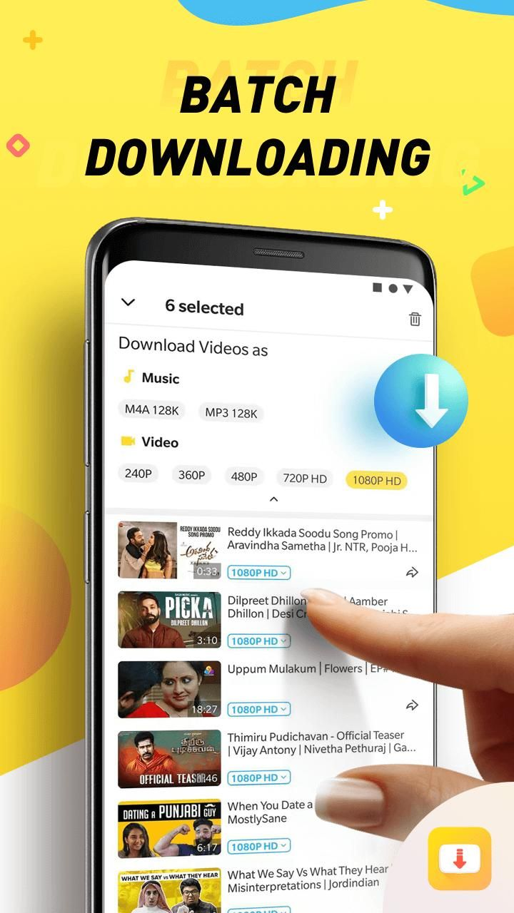 SnapTube for Android APK Download Music download