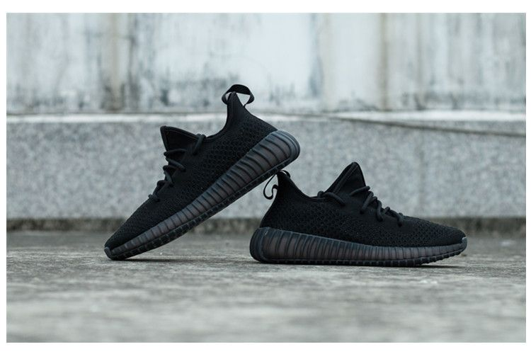 Adidas Yeezy Boost 350v2 negro Hollow Out zapatillas Pinterest