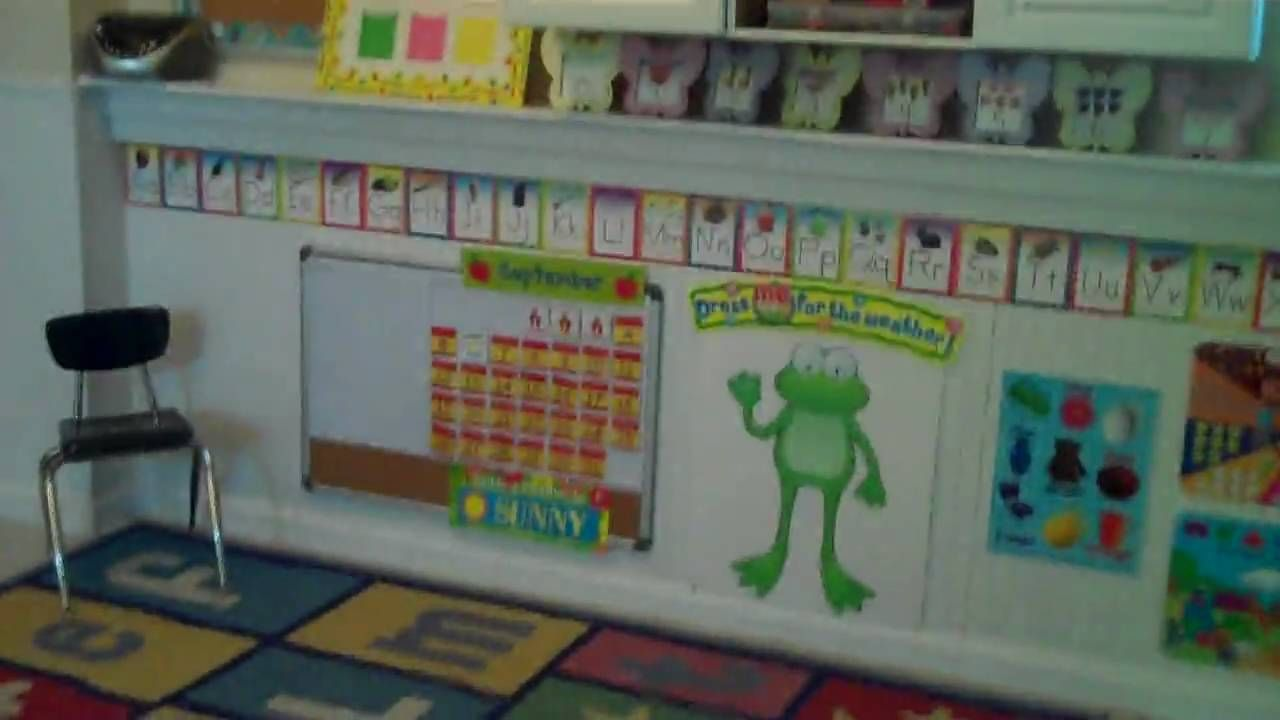 How to convert your garage into a preschool / daycare room