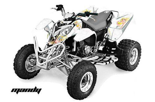 Amr Racing 2002 2011 Polaris Predator 500 Atv Quad Graphic Kit Motorhead M Amr Racing Graphic Kits Are Made To Graphic Kit Atv Quads Motorcycle Equipment