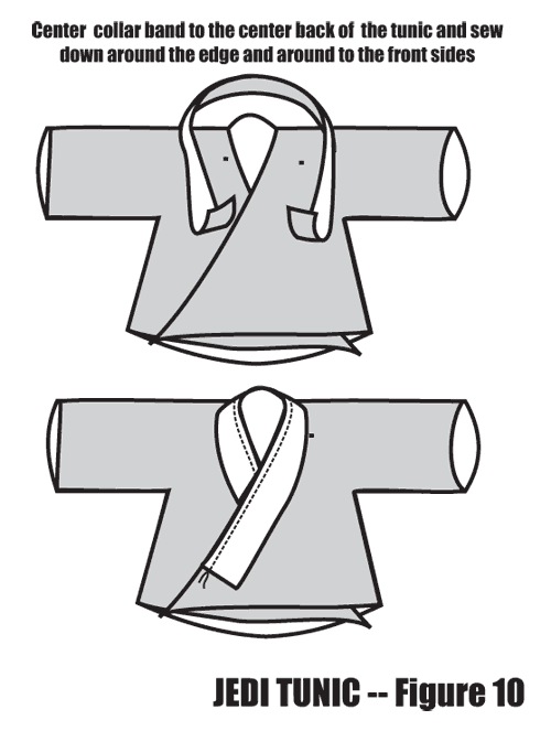 Using an A-line in a Jedi Tunic - Figure 10   DISfresseS   Pinterest