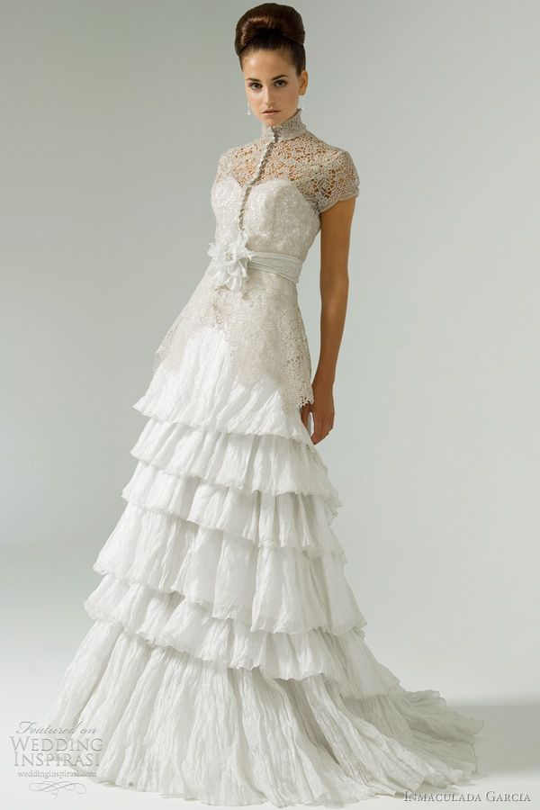 inmaculada garcia 2012 bridal collection