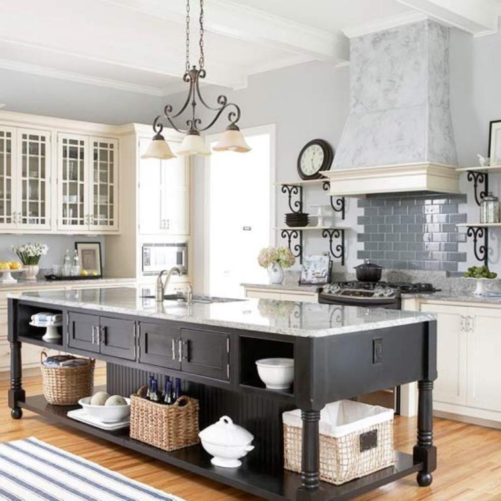 Stylish Vintage Kitchen Island Kitchen Vintage Portable Kitchen ...