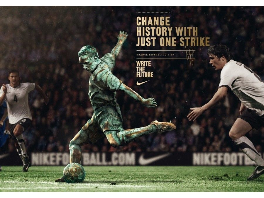 Change History With Just One Strike Nike Ribery Nike Football Nike Soccer Soccer
