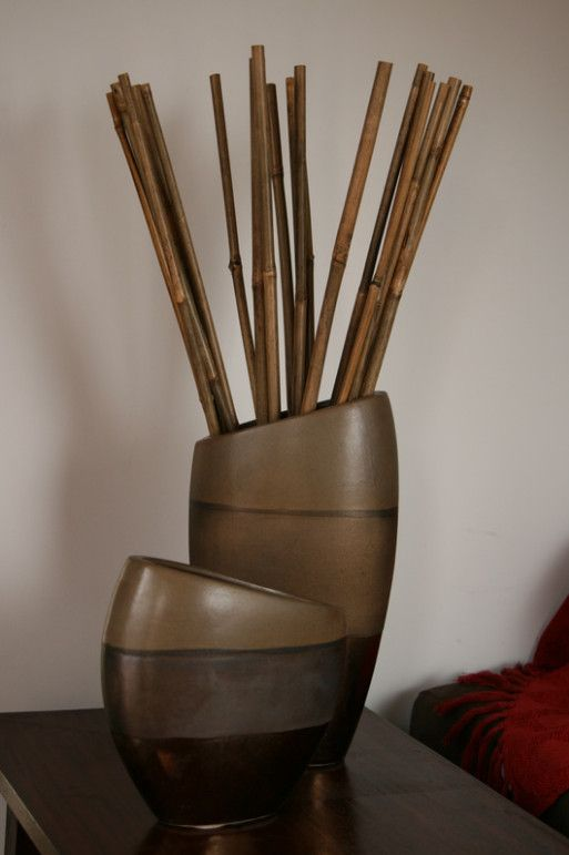 Decorative Vase Bamboo Sticks