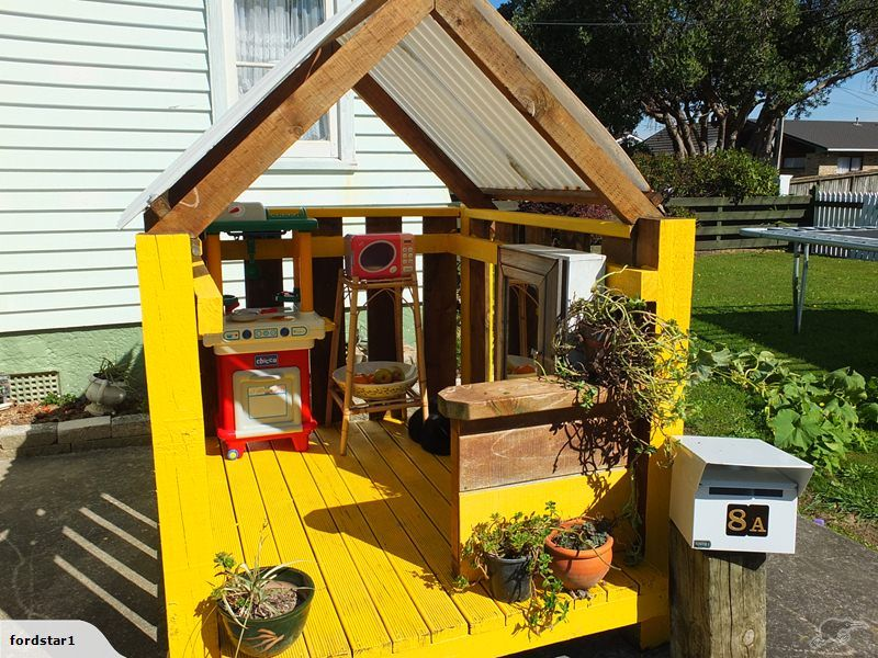 Wooden Outdoor Play house   Trade Me