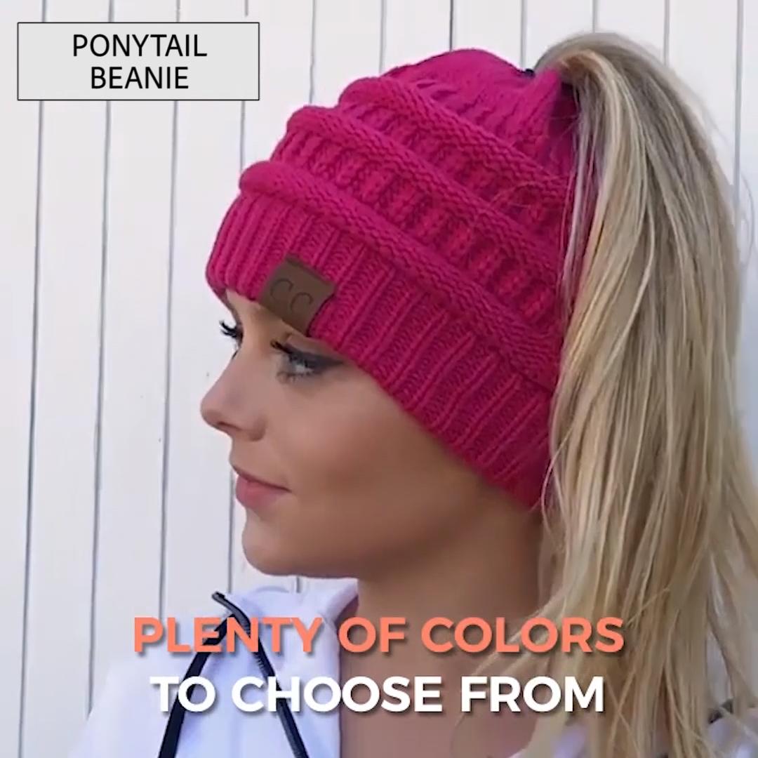 Ponytail Beanie
