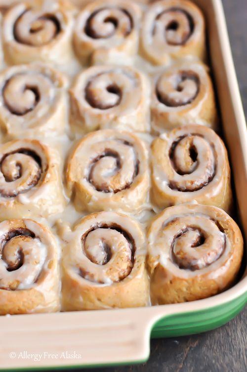 Gluten Free Cinnamon Rolls Recipe Dairy Free Cinnamon Rolls