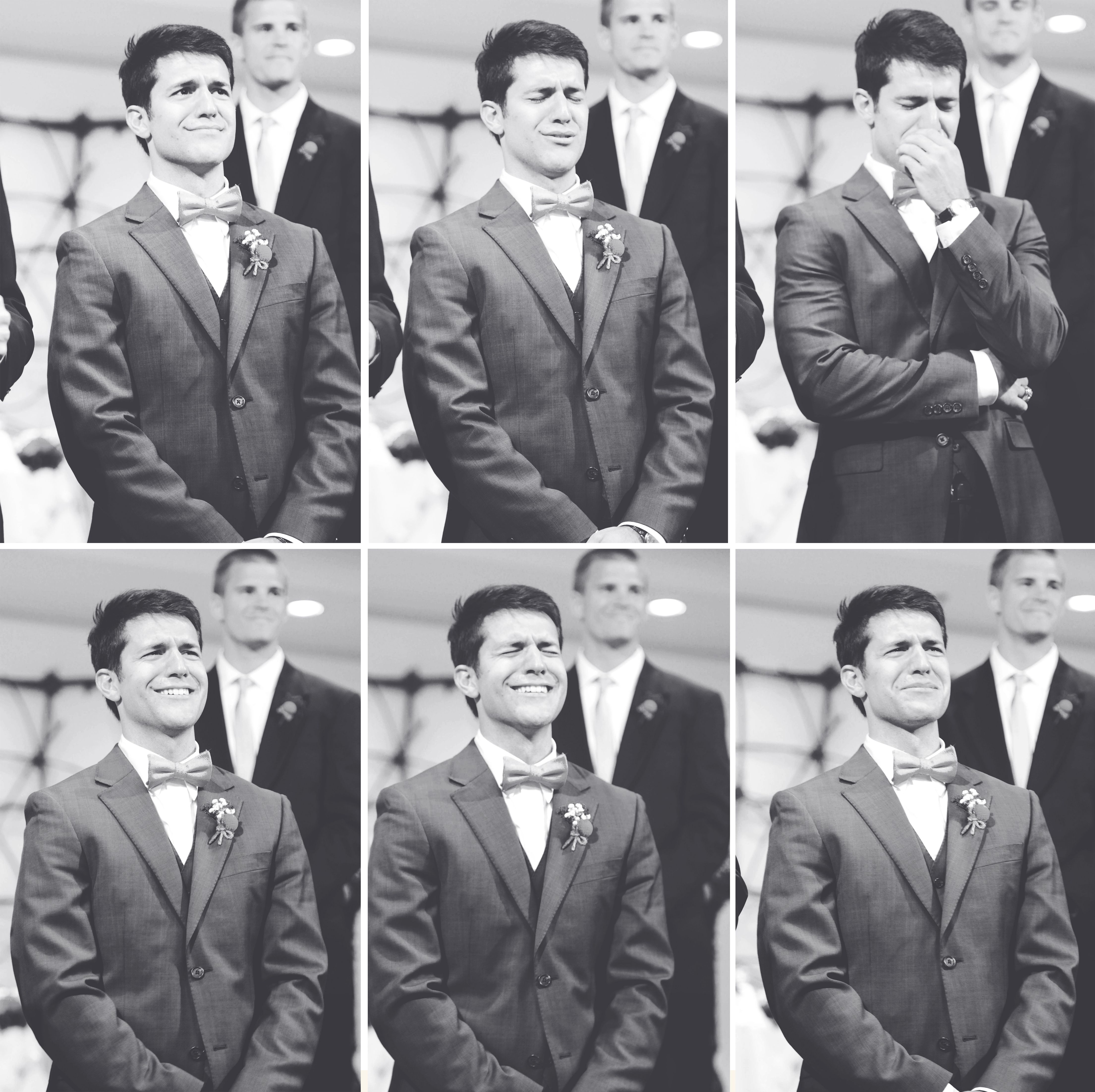 Grooms Are Upping Their Games Bride Cries As The Groom: The Groom Seeing The Bride For The First Time
