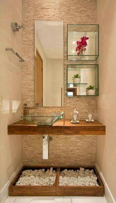 Pin de Gema Muñoz en Home | Decoracion de baños pequeños ...