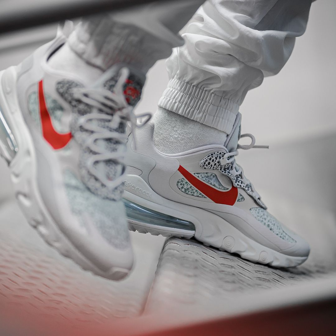 Nike Air Max 270 React In Grau Ct2535 001 Turnschuhe Nike Schuhe Sneaker