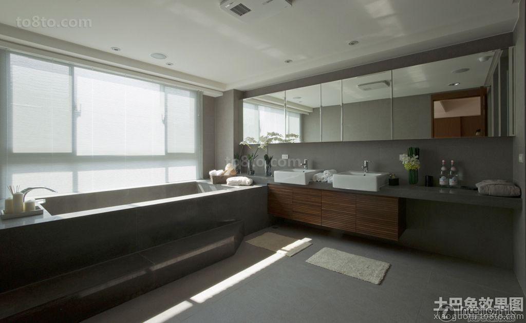 Villas of grand master bathroom decoration picture book | Interior ...