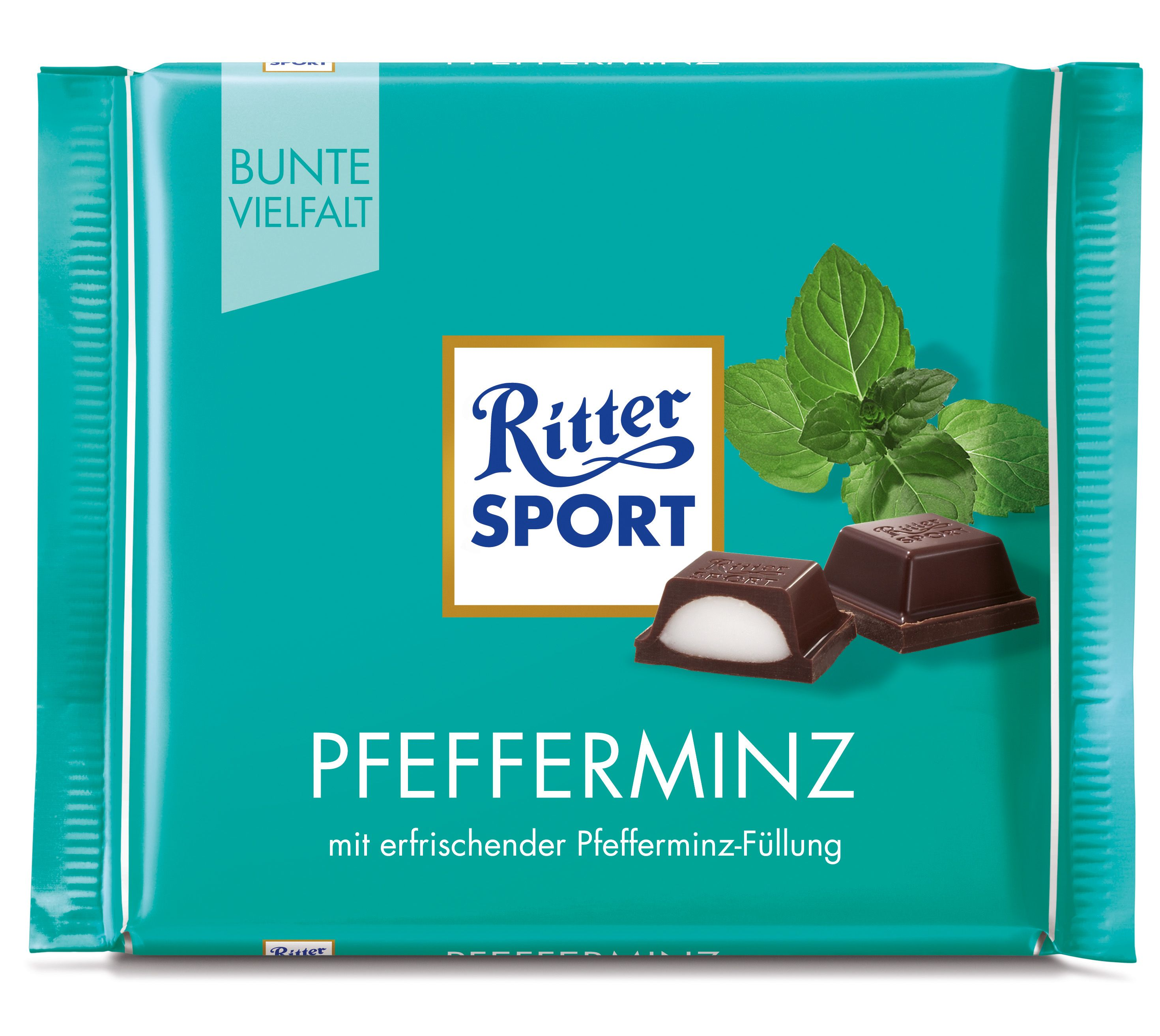 RITTER SPORT Pfefferminz Ritter sport, Pfefferminze, Sport