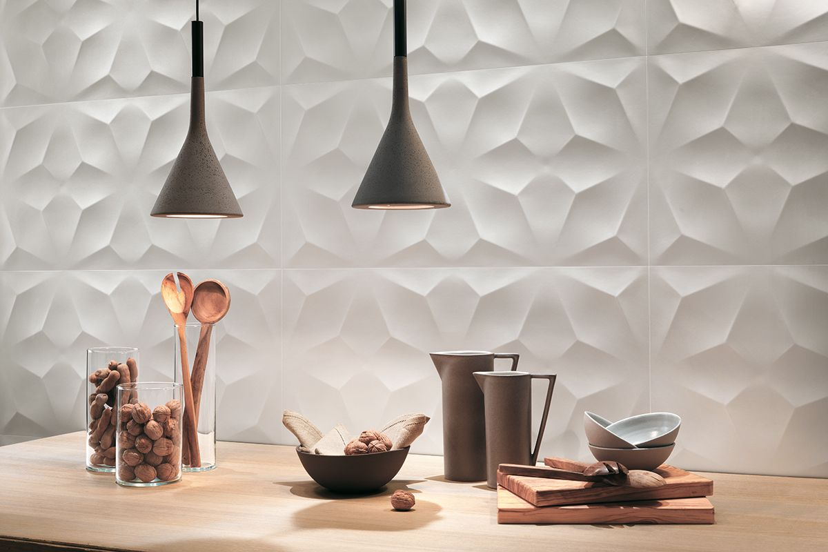 3D Wall Design: superfici ceramiche tridimensionali per pareti ...